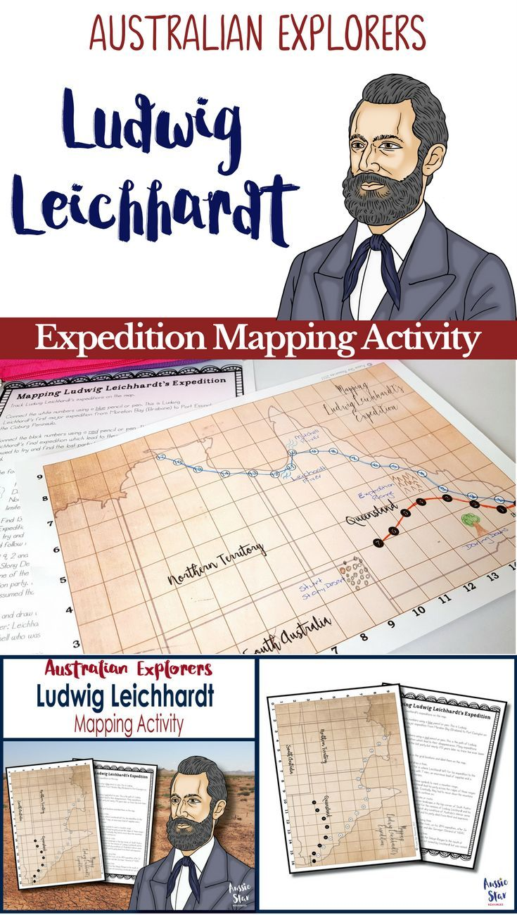 The story of Ludwig Leichhardt is surrounded by mystery and intrigue and is one of the most interesting figures in Australia�s exploration and students love to learn about his expedition and disappearance.Australian Exporers. Ludwig Leichhardt. Year 5 HAS