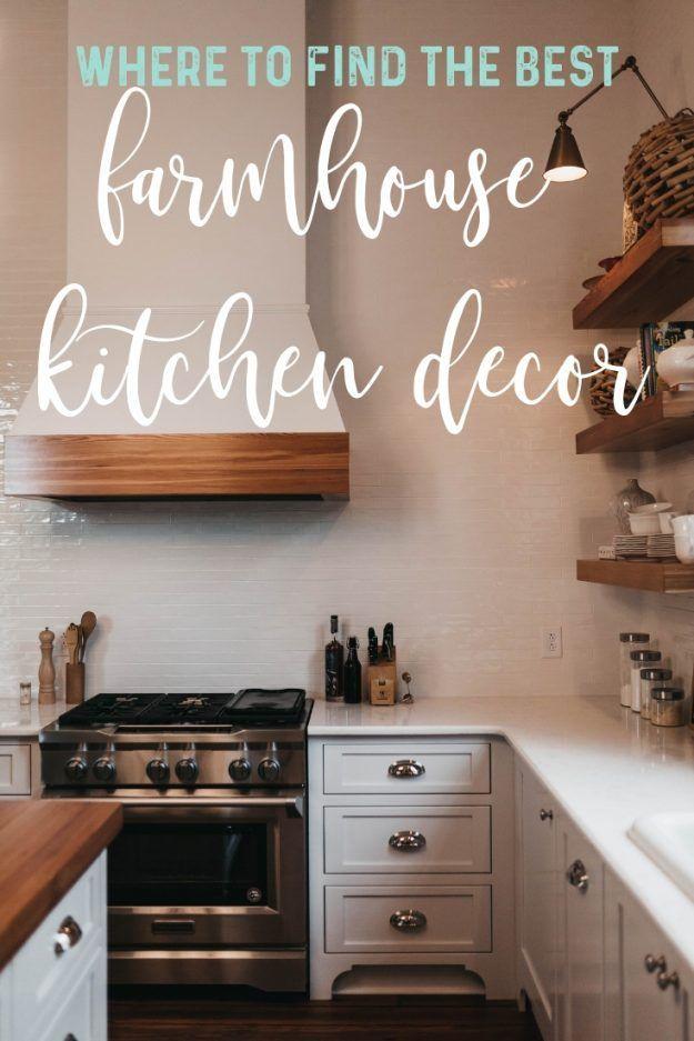 Where To Find The Best Farmhouse Kitchen Decor Items Farmhouse