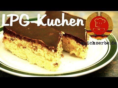 LPG-Kuchen (Schnapskuchen) - Essen in der DDR: Koch- und Backrezepte für ostdeutsche Gerichte | Erichs kulinarisches Erbe
