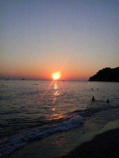 Siviri-sunset-chalkidiki