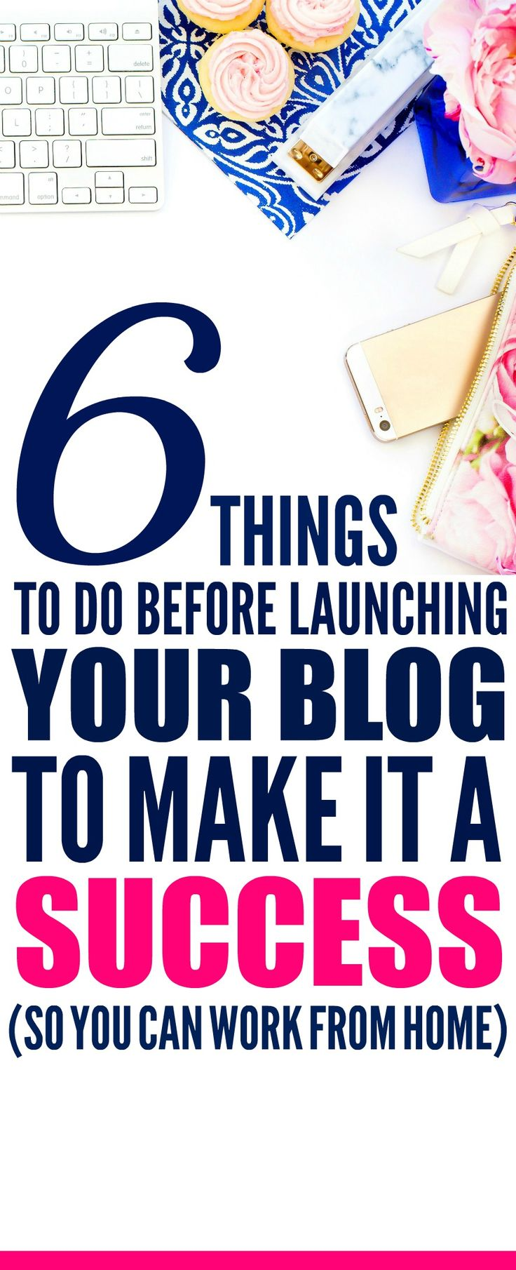 These 6 easy steps for you need to do if you want to be a successful blogger are THE BEST! I'm so glad I found these GREAT beginner blogger tips! Now I have awesome hacks for making money from home! Definitely pinning!