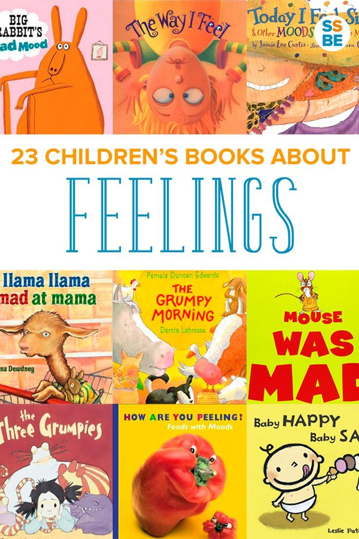 Feelings can be overwhelming for kids, especially when they don't yet know what they are. Help your child with these 23 children's books about feelings