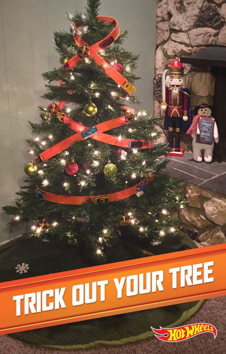 Have a very merry Hot Wheels Christmas with this suped-up DIY Christmas tree. Get directions here.