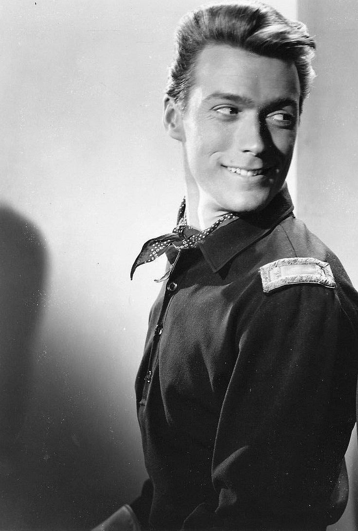 """Clint Eastwood in """"The First Traveling Saleslady"""", 1956."""