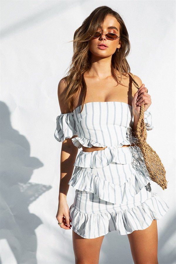 Strapless Zula Dress in 2019 | summer clothes