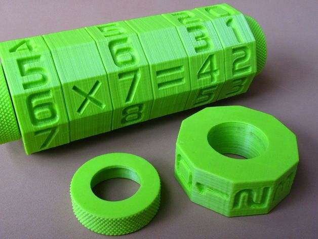 Math Spinner Enhanced (fast print, no support) by pauloblank - Thingiverse