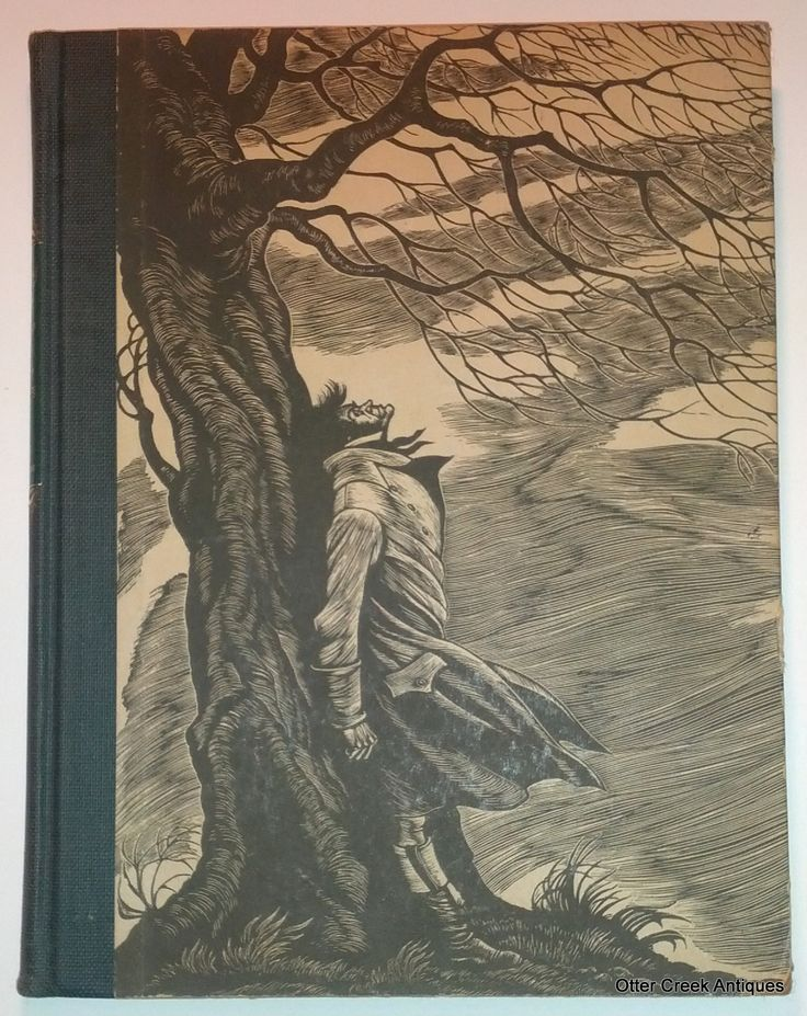 Wuthering Heights (1944) Emily Bronte Engravings By Fritz Eichenberg by Otter Creek Antiques $34.95