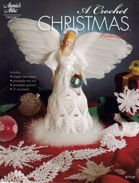 21 Christmas Ornaments Crochet Pattern eBook Knite by AishaShop, $2.80