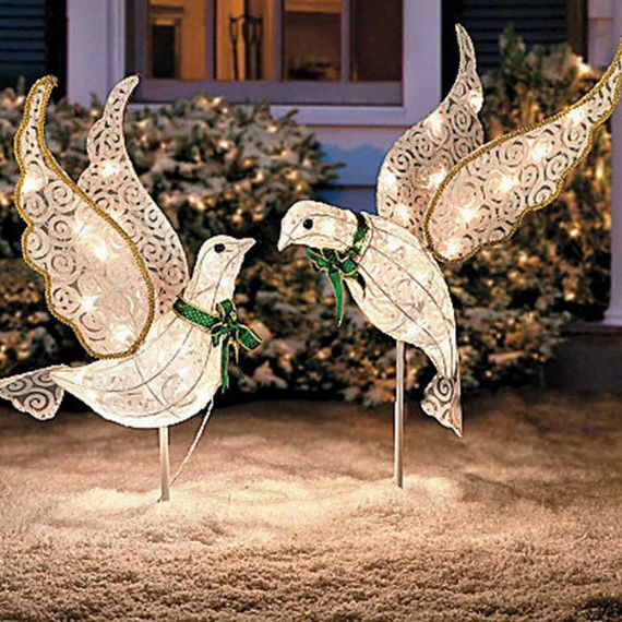 80 best outdoor christmas decor images on pinterest Unique outdoor christmas decorations