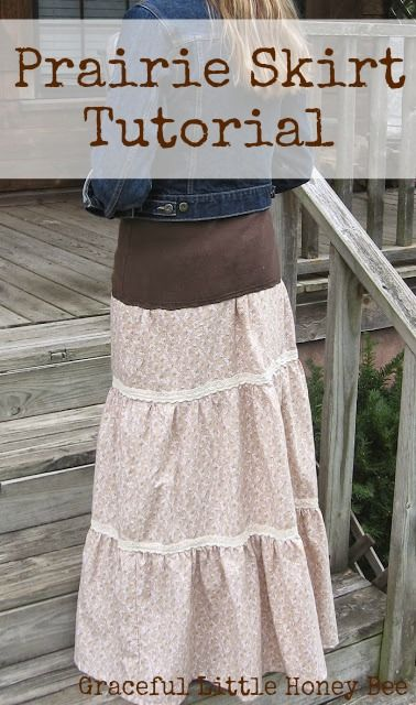 I made this 3 tiered skirt inspired by the Sewing Video from Homestead Blessings and I love how it turned out! I have a weakness for prairie fashion. I think because it's so feminine and I love all the sweet cotton prints. Plus, I adore the way a [...]