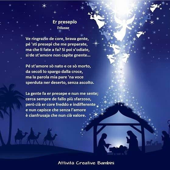 Poesia  di Natale in dialetto romano