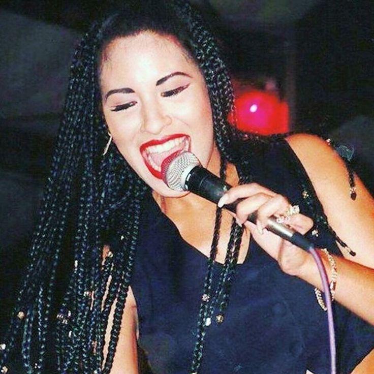 Selena Quintanilla Beautiful Box Braids Hairspiration