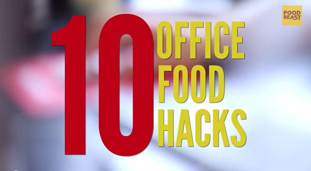 10 Office Food Hacks. Number 10 is Must-Try!