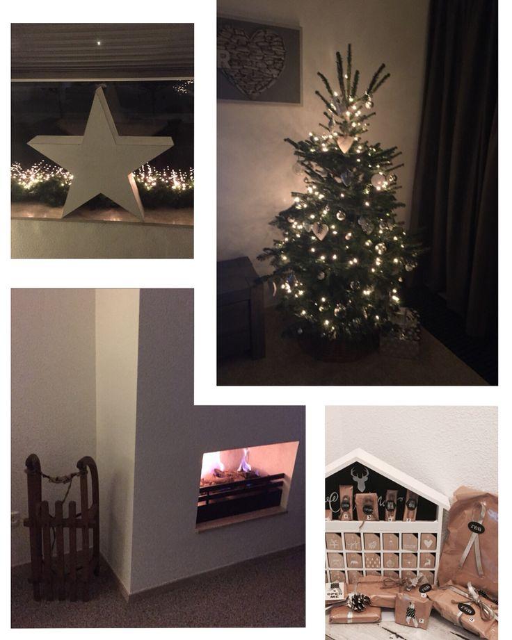 #kerst #slee #kerstboom #adventkalender #haard