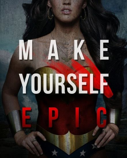 Wonder Woman Fitness Quotes