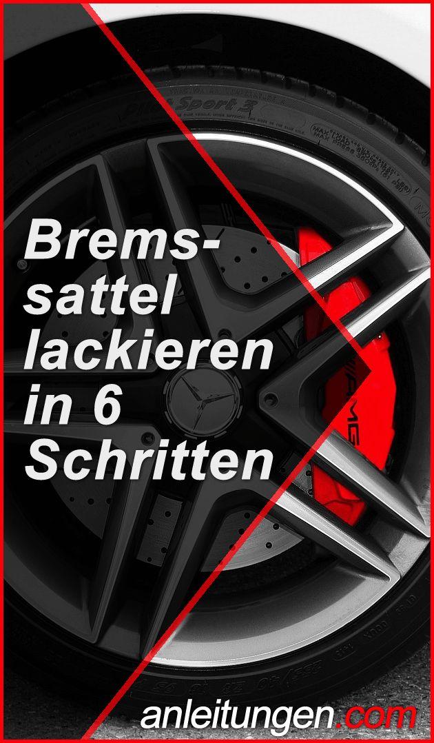 Bremssattel lackieren – Mithilfe dieser Anleitung kannst du die Bremssättel an …