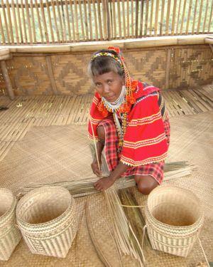Ata Talaingod Liyang Basket Weaving and Beadwork
