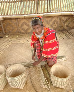 Ata Talaingod Liyang Basket Weaving and Beadwork