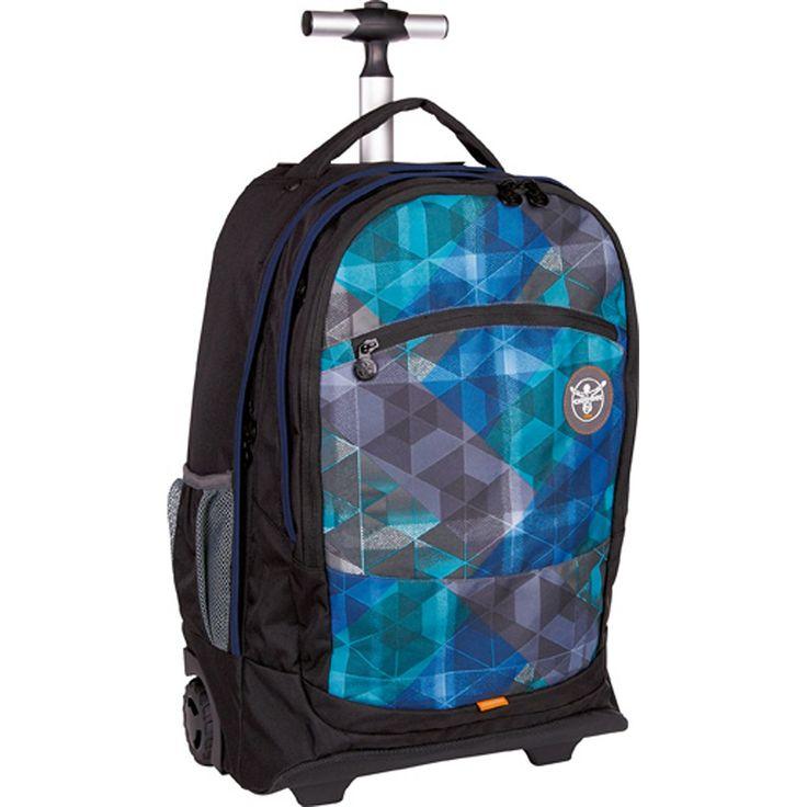 Sport 15 Wheely 2- Rollen Rucksack-Trolley 52 cm Laptopfach    Chiemsee Sport Rucksack-Trolley mit Reißverschluss und einem großen Hauptfach. Er misst 52 cm in der Höhe und kann sowohl als Trolley als auch zu einem Rucksack umfunktioniert werden.    Serie: Sport  Außenmaße (LxBxH): 52cm x 19.5cm x 33cm  Gepäckart: Weichgepäck  Laptoptaschenart: Koffer & Trolleys  Laptopfach: Ja  Maße des Laptop...