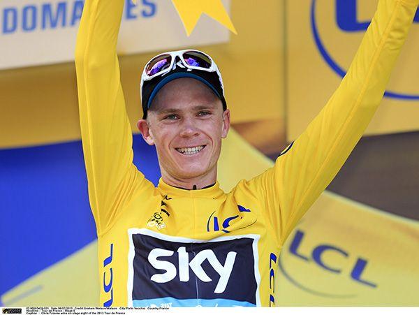 Chris Froome wins the Tour de France 2013