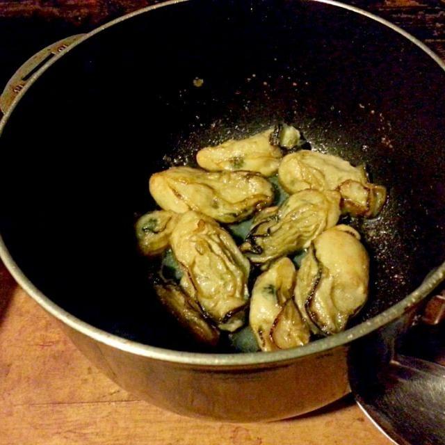 牡蠣の風味が濃厚~!!! - 4件のもぐもぐ - 牡蠣のバターソテー by mai183