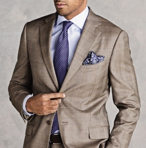Light Brown Suit Shirt Tie Combinations | My Dress Tip