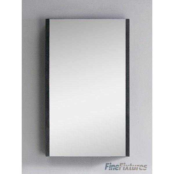"Fine Fixtures Vdara 19.5"" x 31.5"" Surface Mount Medicine Cabinet & Reviews | Wayfair"