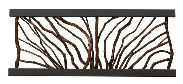 Best Rustic Branch Railing Of Mountain Laurel Rustic Deck 400 x 300