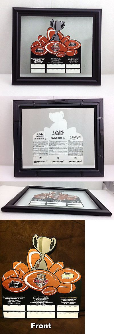 Football-CFL 2861: Framed Grey Cup 2000 Unprinted Ticket B.C. Lions Vs. Montreal Alouettes -> BUY IT NOW ONLY: $10000 on eBay!