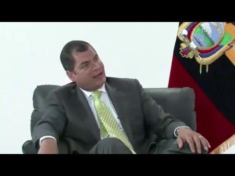 678 - Rafael Correa dio cátedra en la televisión española - 17-12-14 (2 de 4) - YouTube