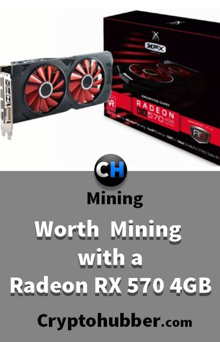 Is Worth Ethereum Mining with a AMD Radeon RX 570 4GB? #mining #tutorials #Ethereum #Bitcoin #cryptocurrency #Crypto #Blockchain #Software #market #cryptonite #Asic #Litecoin #Asics #Monero #Dash #hashrate #Rig #miningrig #hash #rate #ICO #invest #investment #coins #profit #profitability #radeon #RX570