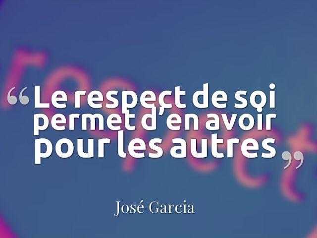 citation sur le respect