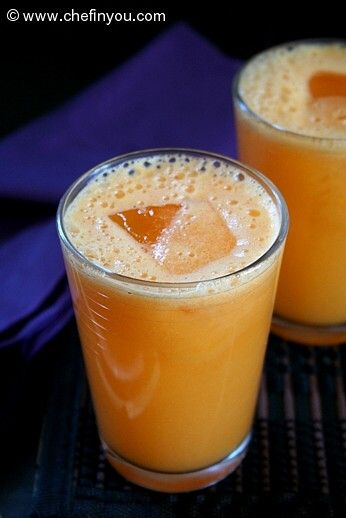 Pineapple, Carrot and Ginger Juice Recipe.