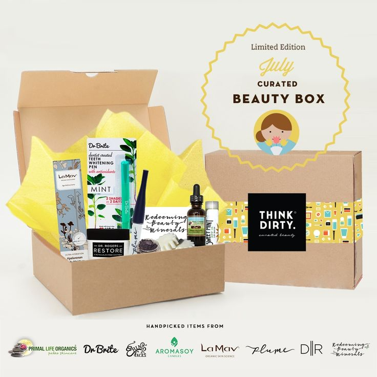 Dental Assistant Duties List%0A Think Dirty July Limited Edition Beauty Box