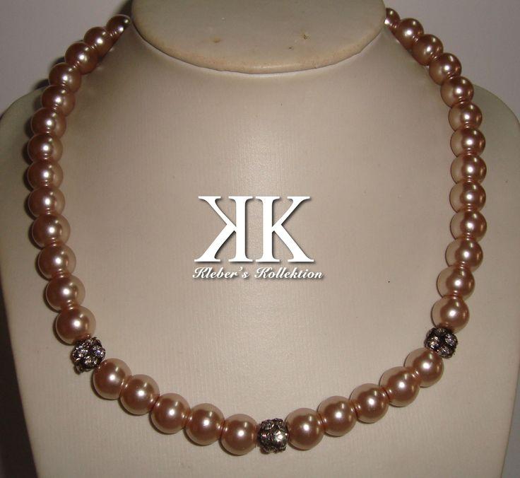 pearls and crystal fire circle #kk #moda #fashion
