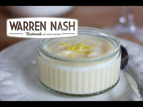Tefal Cuisine Companion Recipes – Lemon Crème Dessert - Recipes by Warren Nash - http://2lazy4cook.com/tefal-cuisine-companion-recipes-lemon-creme-dessert-recipes-by-warren-nash/