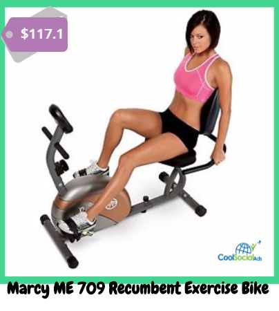 Marcy ME 709 Recumbent Exercise Bike for more details visit http://coolsocialads.com/marcy-me-709-recumbent-exercise-bike-40887