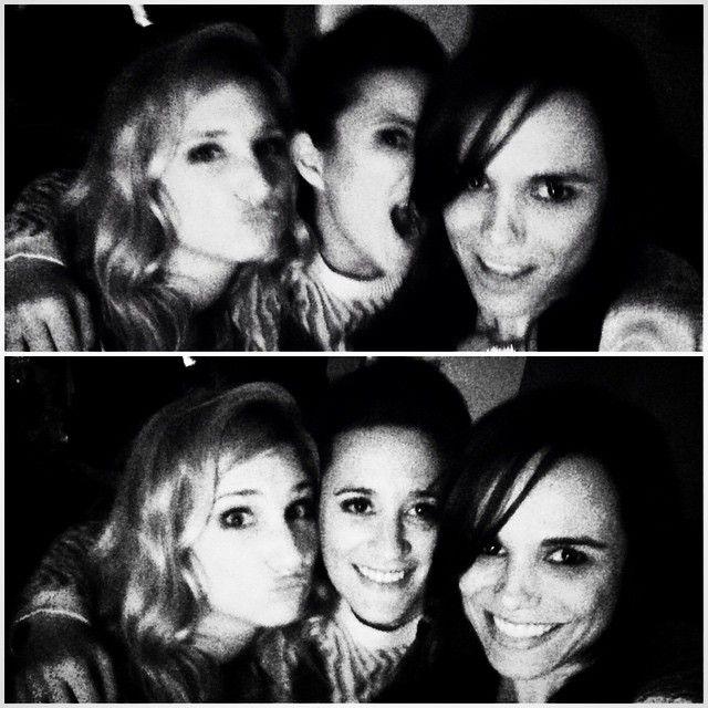 Happyyyyy birthdayyyyy Dianette!! #selfie #girl #power #dianedassigny #maevameline #me #melissamars #trio #blackandwhite #noiretblanc #party #birthday #anniversaire #scorpion #friends #copines