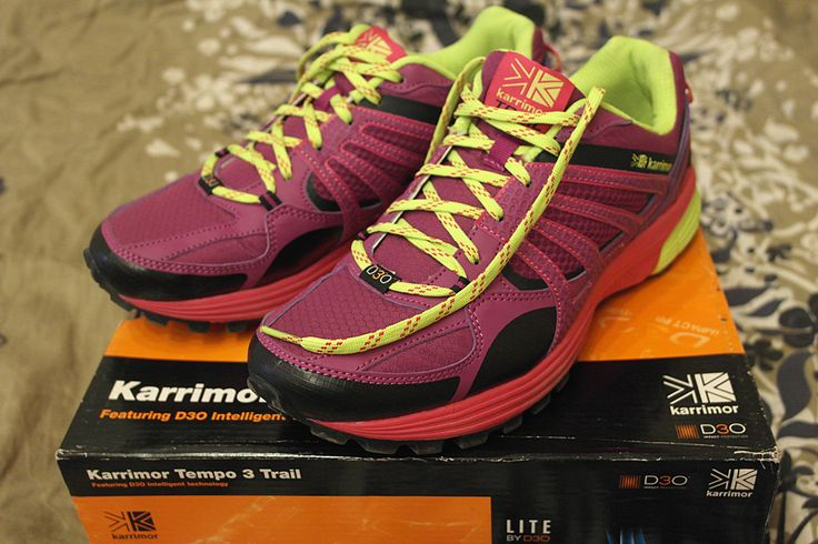Кроссовки для бега зимой Karrimor Tempo 3