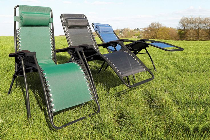 Buy Zero Gravity Garden Recliner Chair - 3 Colours! UK deal for just £29.00 £29 instead of £92 (from Easy Life) for a zero gravity garden recliner chair - select from three colours and save 68% BUY NOW for just £29.00