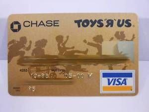 Vintage Visa Credit Charge Card Toys R US Chase Bank Exp 05 00 C736 | eBay