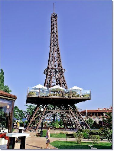 Bulgaria's Golden Sands Eiffel Tower