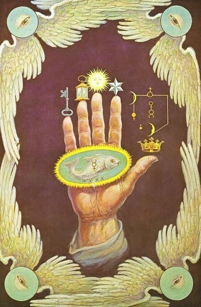 The Hand of Mysteries by Augustus Knapp? 5. Gnosticism was huge in the 2nd century AD. According to gnosticism, there is a secret truth and if you know it, you move toward salvation. The secret is cosmic dualism - everything is good (immaterial) or bad (material).