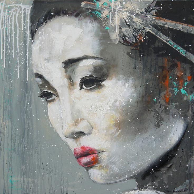 Ingeborg Herckenrath - Geisha 2 Geisha 4 #geisha painting #geisha #memoires of a geisha #japan culture