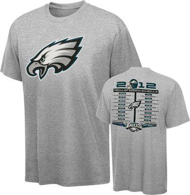 #Eagles 2012 Schedule T-Shirt. $24.99
