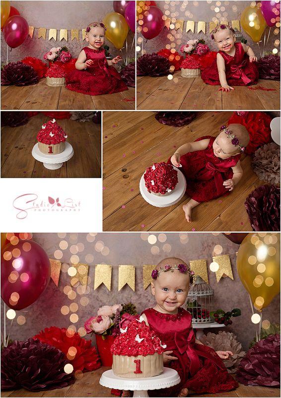 Cake Smash Fotoshooting Madchen Torte 1 Geburtstag Geburtstag Studiolistp Erster Geburtstag Madchen 1 Geburtstag Madchen Baby Madchen Ersten Geburtstag