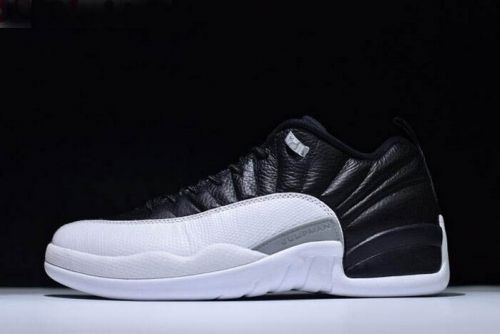 finest selection 6f156 6ce3b nike air jordan 12 low playoffs black varsity red white 308317 004 outlet