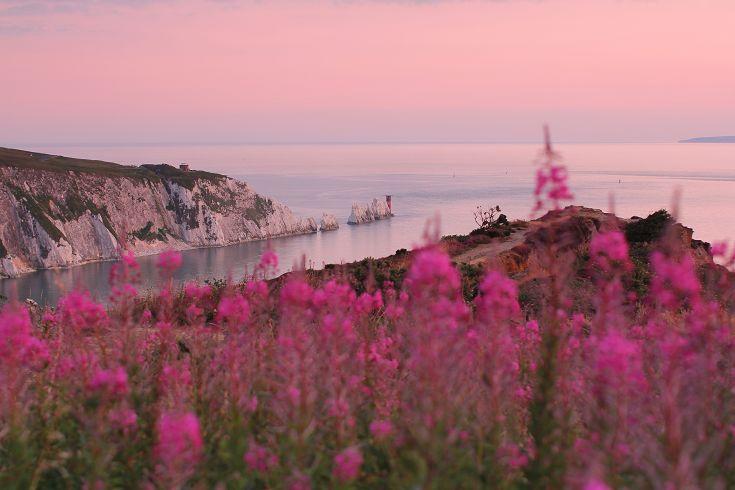 Headon Warren Isle of Wight #redfunnel #isleofwight