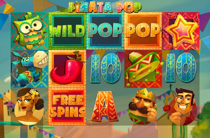 Pinata POP Slot on Behance