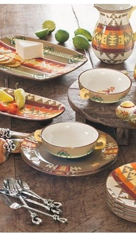 Chief Joseph dinnerware collection from Pendleton.